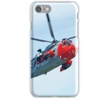 Royal Navy Sea King Rescue Helicopter iPhone Case/Skin
