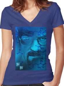 Breaking Bad II Women's Fitted V-Neck T-Shirt