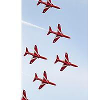 RAF Red Arrows Aerobatics Display Team Photographic Print