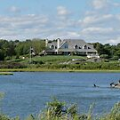 Salt Pond - Goose Neck Cove - Newport - Rhode Island by Jack McCabe