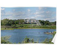 Salt Pond - Goose Neck Cove - Newport - Rhode Island Poster