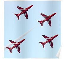 RAF Red Arrows Aerobatic Display Team Poster