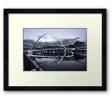 Gateshead Millennium Bridge, Tyne and Wear Framed Print