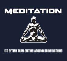 Meditation.  by Zakk Dega Designs.