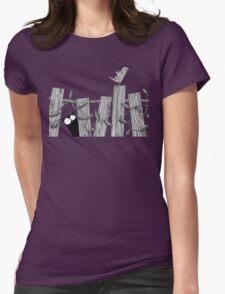 Paper Bird Womens Fitted T-Shirt