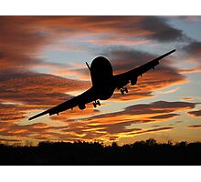 Plane Speaking Photographic Print
