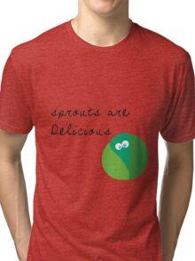 I Love Sprouts! Tri-blend T-Shirt