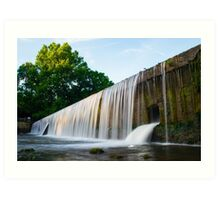 Buck Creek Falls Art Print