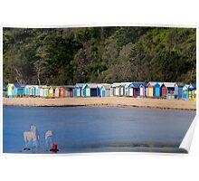 "Mills Beach in Mornington ""part 1"" Poster"