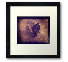 origami chatterbox Framed Print