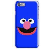 Grover face art geek funny nerd iPhone Case/Skin