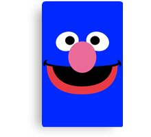 Grover face art geek funny nerd Canvas Print