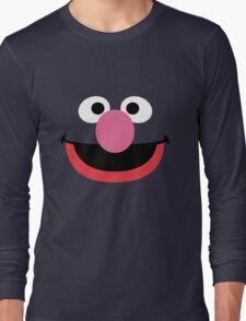 Grover face art geek funny nerd Long Sleeve T-Shirt