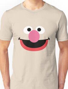 Grover face art geek funny nerd Unisex T-Shirt