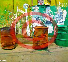 3 Oil Drums by ROCKSTARFOTOS
