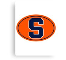 Syracuse S - v3 Canvas Print