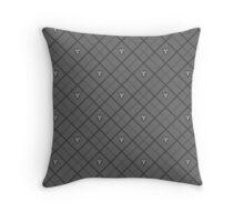Mark of Mastery Argyle - Soot Throw Pillow