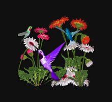 Humingbird Flower Garden Party T-Shirt
