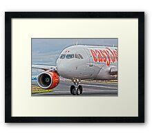 easyJet Airbus 319 Framed Print