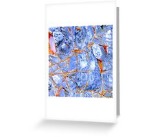 Patterns of the Sea no.1 Greeting Card