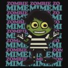 Zombie mime 2 by Scott Barker
