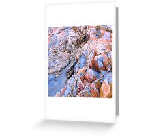 Patterns of the Sea no.2 Greeting Card