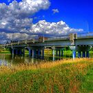 Charleswood Bridge - HDR by Larry Trupp