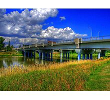 Charleswood Bridge - HDR Photographic Print