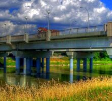 Charleswood Bridge - HDR Sticker