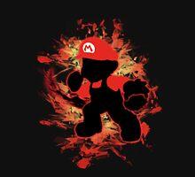 Super Smash Bros Mario Silhouette Unisex T-Shirt