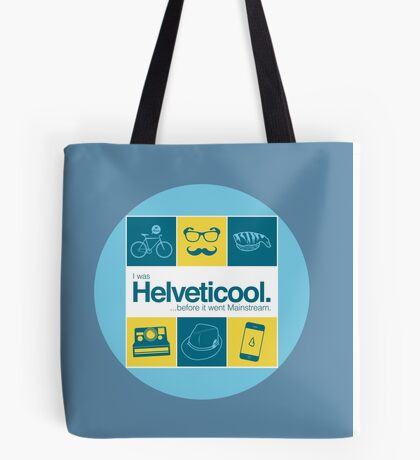 I'm helveticool Tote Bag