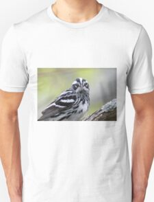 Black-and-white Warbler Unisex T-Shirt