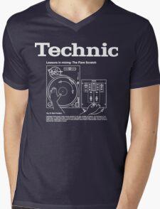 technical shirt  Mens V-Neck T-Shirt