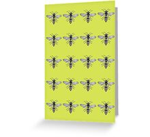 A Swarm of Wasps  Greeting Card