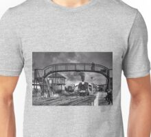 Bo'ness and Kinneil Railway B&W Unisex T-Shirt