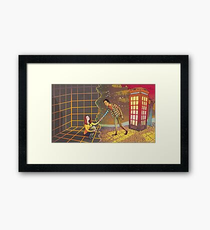 Let's Go - Abed & Annie Framed Print