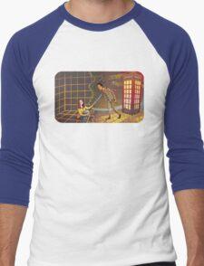 Let's Go - Abed & Annie Men's Baseball ¾ T-Shirt
