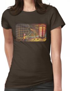 Let's Go - Abed & Annie Womens Fitted T-Shirt