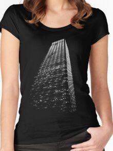 Urban grandeur Women's Fitted Scoop T-Shirt