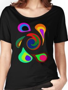 Crazy Colorful Circles! Women's Relaxed Fit T-Shirt