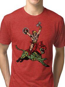 Vintage Man Tri-blend T-Shirt