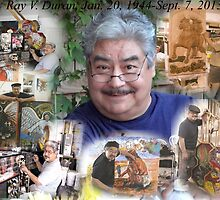 My dad Reynaldo tribute, poster size by Matty B. Duran