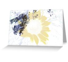 A Layer of Sun Greeting Card