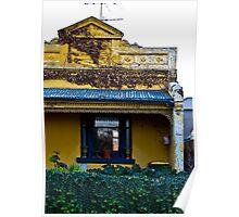 Yellow house - Kensington, Victoria Poster