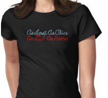 Lost as Alice Womens Fitted T-Shirt