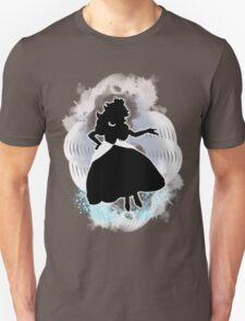 Super Smash Bros. White Peach Silhouette Unisex T-Shirt