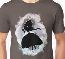 Super Smash Bros. White Peach Silhouette Unisex T-Shirt