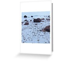 Pattern of the Sea no.5 Greeting Card