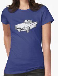Alpine 5 Sports Car Illustration T-Shirt