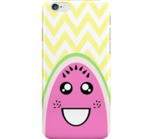 Funny Cute Watermelon Face iPhone Case/Skin